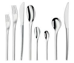 wmf kitchen knives nordic 96 piece stainless steel flatware set wmf americas