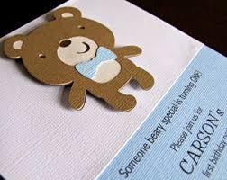 beige teddy bear baby shower invitation digital invitation