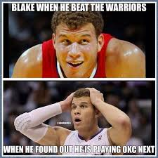 La Clippers Memes - 16 best okc thunder images on pinterest nba funny nba memes and
