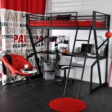 lit mezzanine avec bureau pour ado lit mezzanine bureau noir offres mai clasf