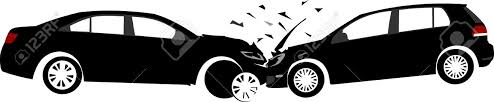 wrecked car clipart car crash concept layered vector illustration royalty free