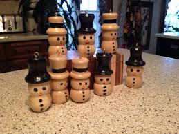 48 best wood turned snowmen images on wood
