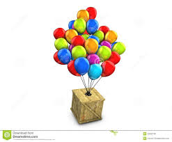 free balloon delivery wooden box balloon delivery royalty free stock images image
