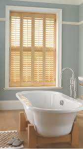 the beauty of using natural looking plantation shutters is that