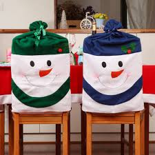 snowman chair covers christmas chair covers 45 with christmas chair covers home
