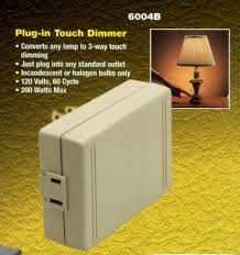 Westek 60 Min In Wall by Westek Plug In Touch Lamp Dimmer Converts Any Lamp To 3 Way
