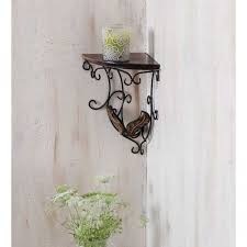 Decorative Wall Shelf Sconces Onlineshoppee Beautiful Wooden Decorative Corner Wall Hanging