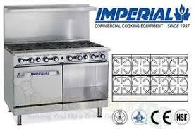 imperial convection oven pilot light imperial commercial restaurant range 48 w 1 convection oven natgas