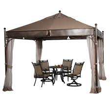 Patio Gazebos And Canopies by Apaga3535swbw Abba Patio 11 5 U0027 X 11 5 U0027 Outdoor Steel Garden Gazebo