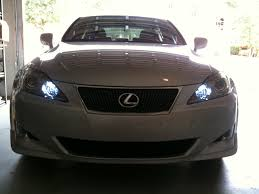 lexus is250 f sport led lights led bulbs for drl and parking lights lexus is forum