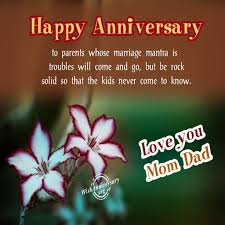 wedding wishes to parents new best anniversary quotes for parents happy wedding anniversary
