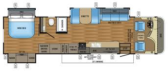 Flor Plans 2017 Precept Class A Motorhome Floorplans U0026 Prices Jayco Inc
