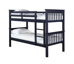 Leo Navy Blue Wooden Bunk Bed Beds Direct Warehouse Gainsborough - Navy bunk beds