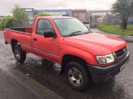 2003 toyota hilux 2 5 d 4d single cab 4x4 in bradford west