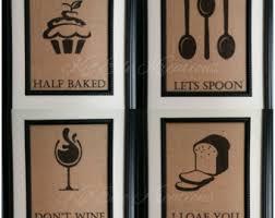 Kitchen Wall Decor Restaurant Decor Etsy