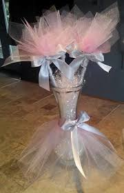 tutu centerpieces for baby shower my baby shower tutu centerpieces thanks for them