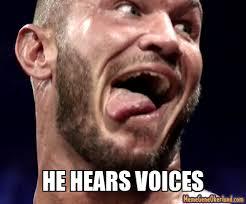Meme Gene - wrestling memes he hears voices meme gene okerlund wwe