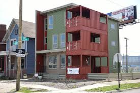 shipping container homes in detroit chicago tribune