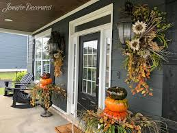 porch fall porch decorating ideas you have to see jennifer decorates