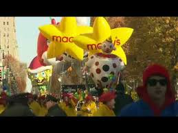 a live on the route of the macy s thanksgiving day parade