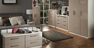 knightsbridge bedroom furniture black gloss u0026 white gloss range