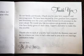 Thank Yous On Wedding Programs 7 Best Images Of Wedding Program Thank You Quotes Wedding