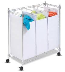 laundry hamper organizer rolling laundry sorter home organizer 4 section clothes hamper