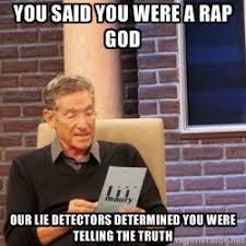 Eminem Rap God Meme - just heard eminem s rap god imgur