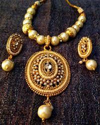 ethnic indian jewelry oval pearl polki glowing