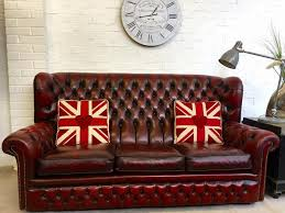 Red Chesterfield Sofa For Sale by Sofa 28 Lovely Used Chesterfield Sofa 1207556934 Vintage