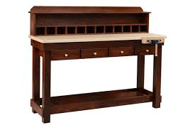 custom made stand up work bench