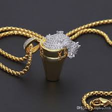 hip hop jewelry necklace images Wholesale new mens hip hop jewelry cuban link chains necklace jpg