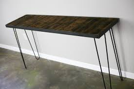 Wood Sofa Table Sofa Sofa Table Metal Glass Wrought Iron Console Wood And Steel