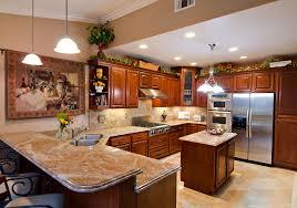 Modern Cherry Wood Kitchen Cabinets Kitchen Marvelous Image Of Kitchen Decoration Using Solid Walnut