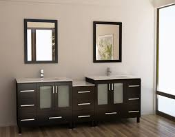 Adorna  Inch Contemporary Double Sink Bathroom Vanity Set - Bathrooms with double sinks
