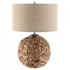 Orb Table Lamp Bamboo Lamps Foter