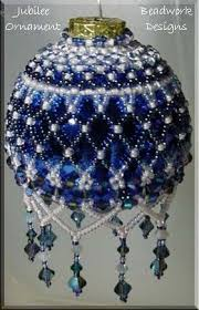 48 best beaded ornament covers images on balls