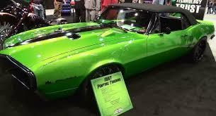 2014 Pontiac Trans Am 1967 Pontiac Firebird Pro Touring Sema 2014 Youtube