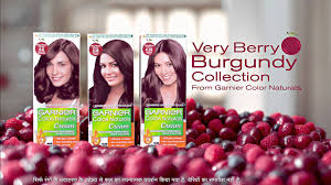 garnier color naturals very berry burgundy collection tvc