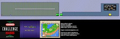 Super Mario World Map by 1992 Nintendo Campus Challenge Game 1 Super Mario World Map 2