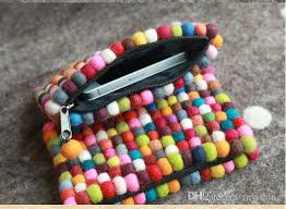 wholesale clutch colorful special handmade national trend