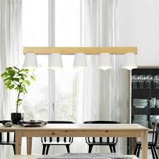 Esszimmer Lampe Schwarz Neue Glanz Holz Pendelleuchte Stil Loft Schwarz Weiß Lampenschirm