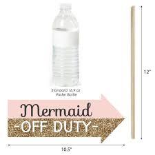 amazon com funny let u0027s be mermaids baby shower or birthday