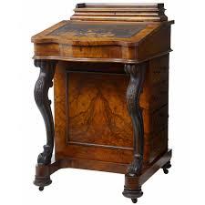 Antique Writing Desks For Sale 19th Century Victorian Carved Walnut Davenport Writing Desk For