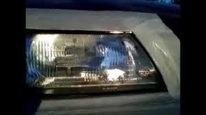 nissan sentra lec modified headlights restoration nissan sentra wmv youtube