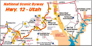 map usa utah cowboy country inn escalante utah