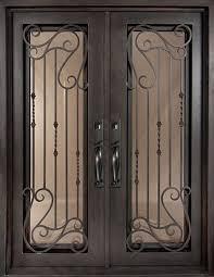 62x82 affinity iron door beautiful wrought iron front
