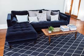 a living room update our new velvet sofa the sweetest occasion