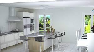 ilot cuisine blanc cuisines avec ilot central excellent lumire et pour cette cuisine