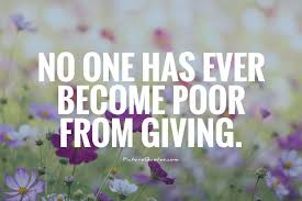 charity and giving quotes like success